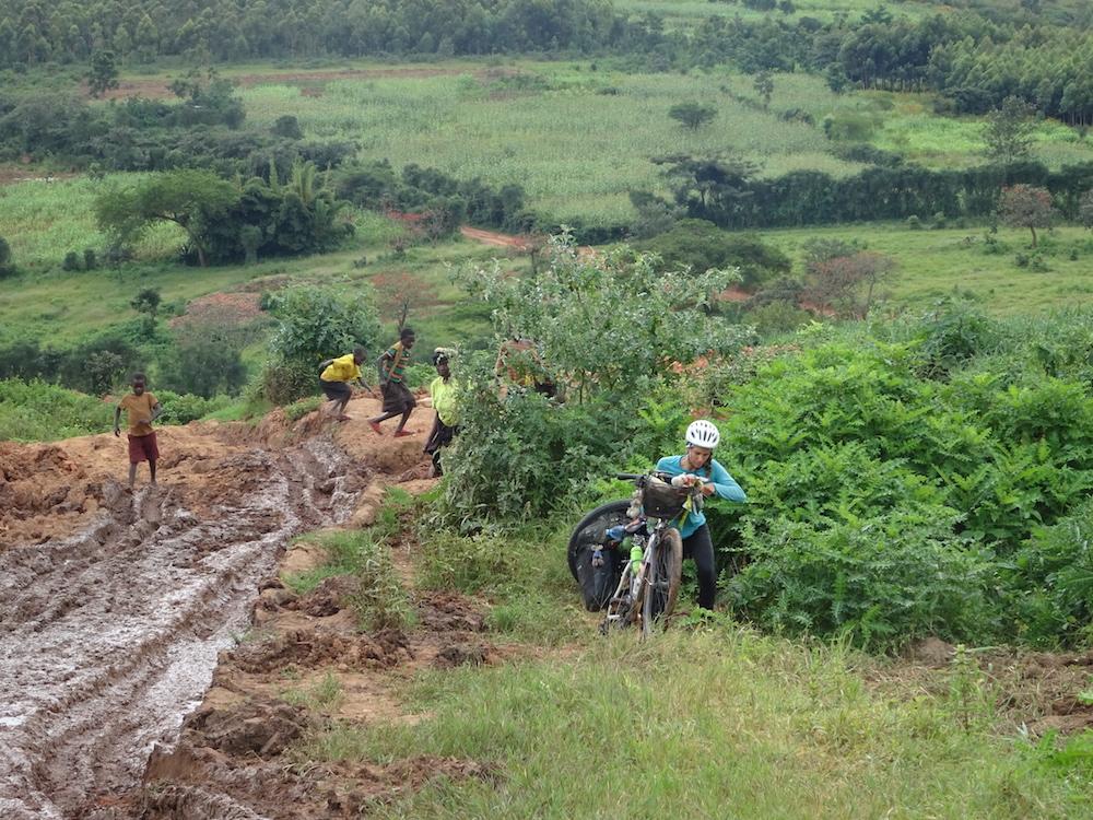 Raccourci difficile au Rwanda