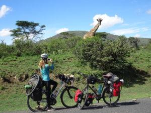 Voyage à vélo en Afrique Tiphaine Muller