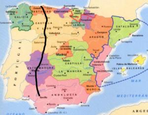 Traversée Espagne vélo itinéraire