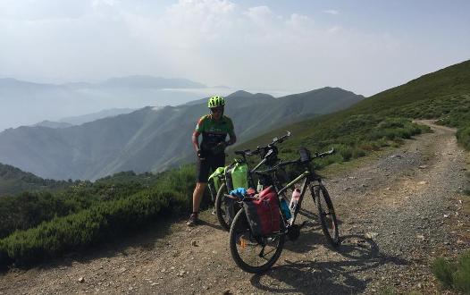 Montagnes asturies vélo